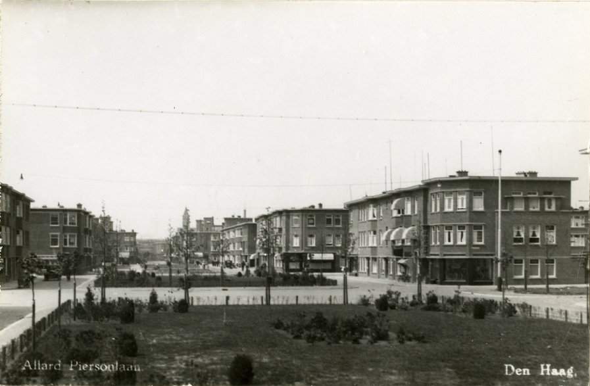 Allard Piersonlaan, 1934. Foto: Jan Woerlee