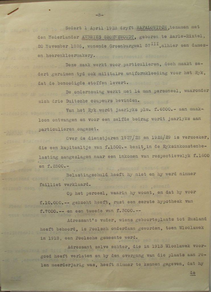 Verklaring namens de Hoofdcommissaris van Politie (3)